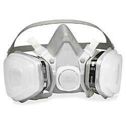 3M Dual Cartridge Respirator Medium Size