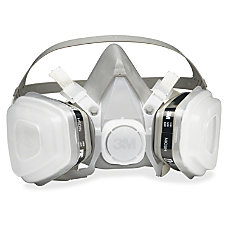 3M Dual Cartridge Respirator Medium Size