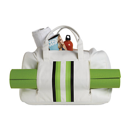 Orbit Gym Bag With Yoga Mat 20 H X 7 W X 13 D Creamgreen