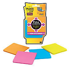 Post it Super Sticky Full Adhesive