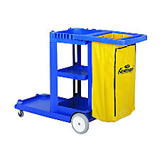 Continental Janitorial Cart With 25 Gallon