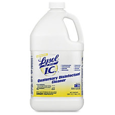 Lysol IC Quaternary Disinfectant Liquid Solution
