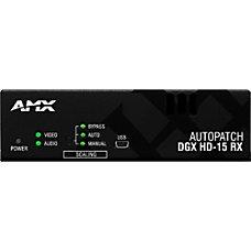 AMX AVB RX DGX SC FIBER