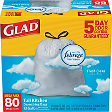 Glad Tall Kitchen 5 Day OdorShield
