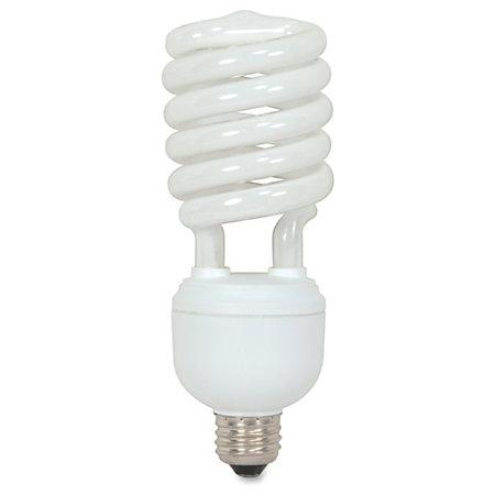 satco t4 spiral fluorescent tube light bulb 40 watt by. Black Bedroom Furniture Sets. Home Design Ideas