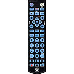 Ge Ge Big Button Blue Led Backlit Remote Control By Office