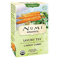Numi Organic Savory Decaffeinated Tea Carrot