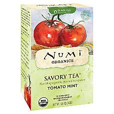 Numi Organic Savory Decaffeinated Tea Tomato