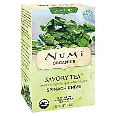 Numi Organic Savory Decaffeinated Tea Spinach