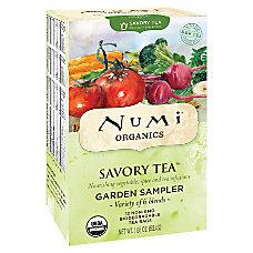 Numi Organic Savory Decaffeinated Tea Garden
