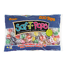 Spangler Candy Saf T Pops Pack