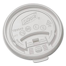 Dixie Plastic Lids For Hot Drink