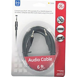Jasco Ge Audio Cable By Office Depot Amp Officemax