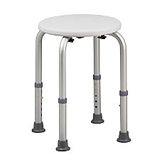 HealthSmart Compact Shower Stool With Germ