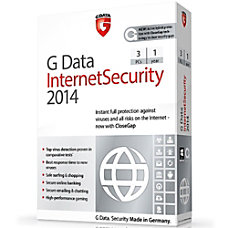 G Data InternetSecurity 2014 3 PC