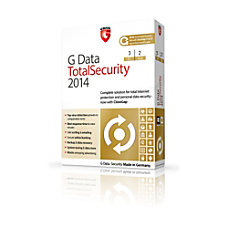 G Data TotalSecurity 2014 3 PC