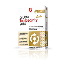G Data TotalSecurity 2014 5 PC