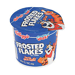 Kelloggs Frosted Flakes Cereal In A