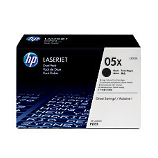 HP 05X Black Original Toner Cartridges