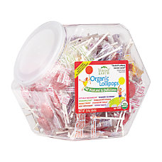 YummyEarth Organic Lollipops 024 Oz
