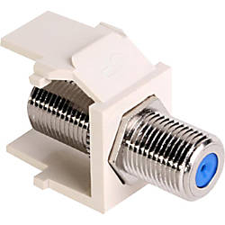 Leviton QuickPort F Type Adapter