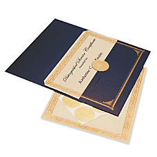 Geographics Gold Foil Embossed Award Certificate