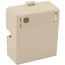 Leviton QuickPort 2 Socket Mounting Box