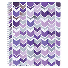 Divoga Spiral Notebook Chevron Collection 8