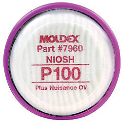 P100 FILTER DISK WITH NUISANCE ORGANIC