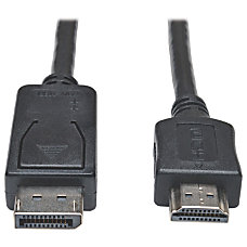 Tripp Lite 15ft DisplayPort to HDMI