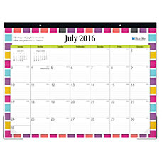 Desk Pad Calendars At Office Depot Officemax