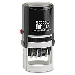 Cosco Self Inking Time Date Stamp