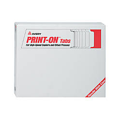 Avery 20percent Recycled Unpunched Copier Tab