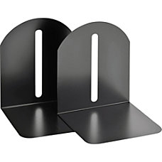 STEELMASTER Fashion Steel Bookends 9 Black