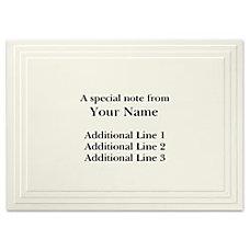 Custom Printed Stationery Note Cards Multi