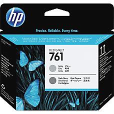 HP 761 Printhead Gray Dark Gray