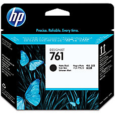 HP 761 Printhead Matte Black Inkjet