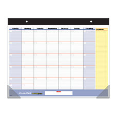 AT A GLANCE QuickNotes Monthly Planning