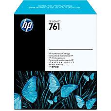 HP No 761 Maintenance Cartridge Inkjet