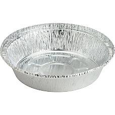 Genuine Joe Round Aluminum Food Container