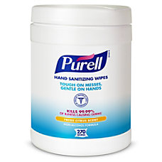 Purell Sanitizing Wipes Canister Of 270
