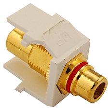 Leviton QuickPort RCA Connector