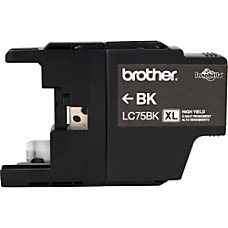Brother LC75BK Ink Cartridge Black Inkjet