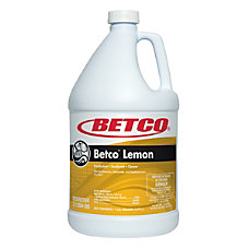 Betco Disinfectant Concentrate Lemon Scent 1