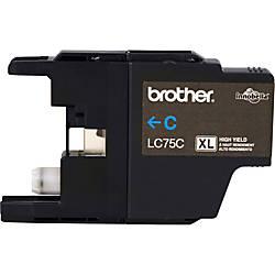Brother LC75C Original Ink Cartridge Inkjet