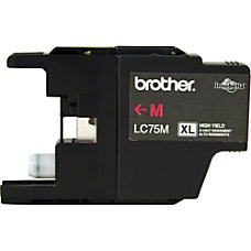 Brother LC75M Ink Cartridge Magenta Inkjet