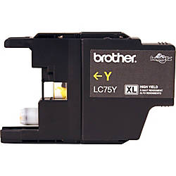 Brother LC75Y Original Ink Cartridge Inkjet