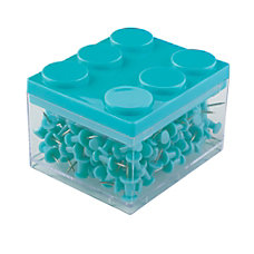 Office Depot Brand Stackable Colored Push