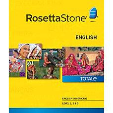 Rosetta Stone English American Level 1