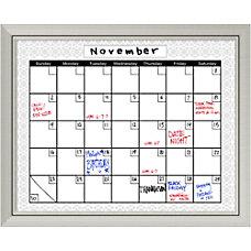 Amanti Art Medallion Calendar Dry Erase